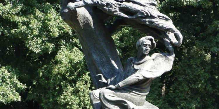 Lazienki Park Chopin Heykeli